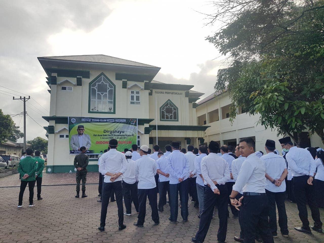 HAB Ke 75 Berlangsung Khidmat di IAIN Takengon